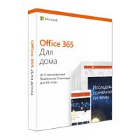 Офисное приложение Microsoft Office 365 Home Rus Only Medialess P4 1год (6GQ-00960)